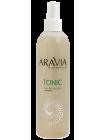 Тоник для очищения и увлажнения кожи с мятой и ромашкой Aravia