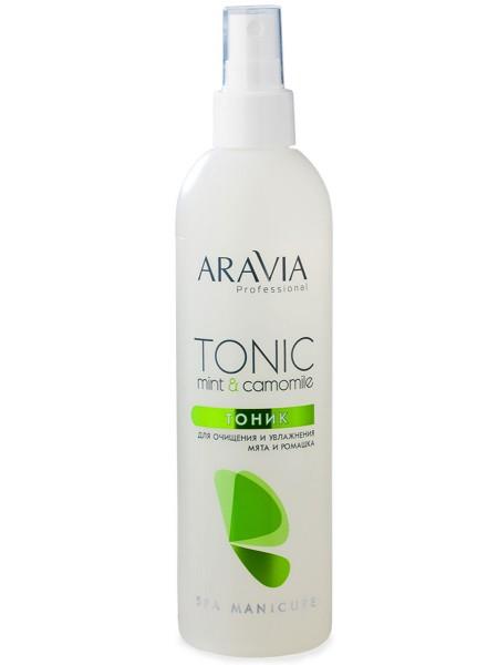 Тоник для очищения и увлажнения кожи Aravia
