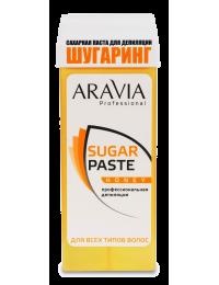 Сахарная паста для депиляции Aravia в картридже