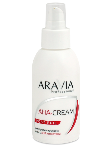 Крем против вросших волос с АНА-кислотами Aravia Professional