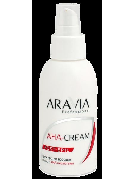 Крем против вросших волос с АНА-кислотами Aravia