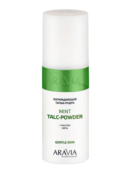 Охлаждающая тальк-пудра с маслом мяты «Mint Talc-Powder»