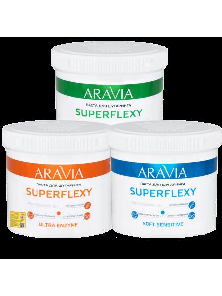 Сахарная паста SUPERFLEXY Aravia Professional