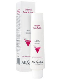 Паста-эксфолиант для лица с энзимами «Enzyme Face Polish» Aravia