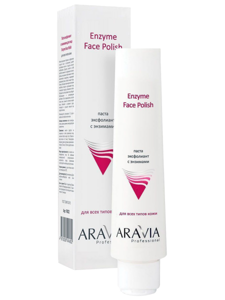 Паста-эксфолиант для лица с энзимами «Enzyme Face Polish» Aravia