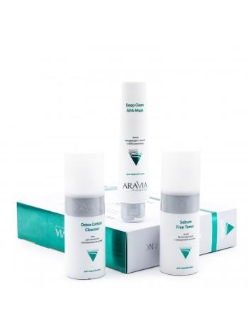 Набор против несовершенств кожи «Anti-Acne Balance» Aravia