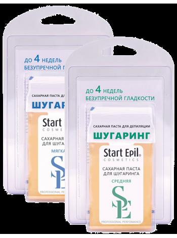 Набор для шугаринга Start Epil: паста в картридже 100 гр + 6 полосок