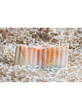 Натуральное соляное мыло (иланг и мандарин)