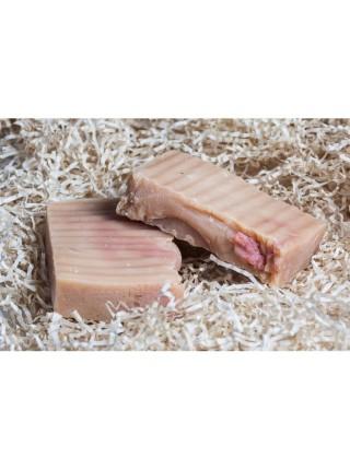 Натуральное кастильское мыло (клубника)