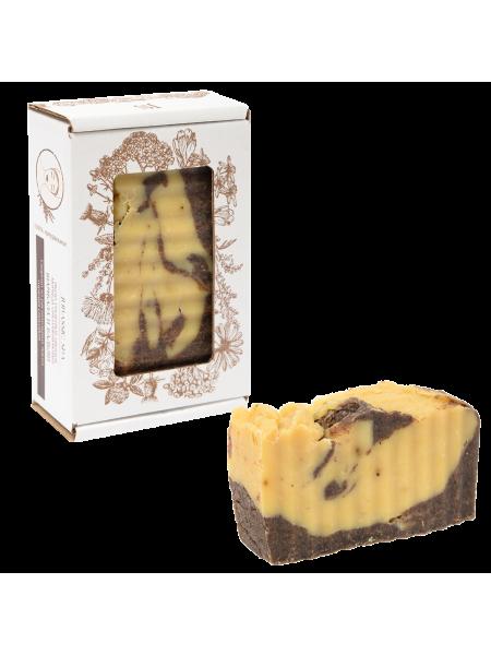Натуральное кастильское омолаживающее мыло «Аюрведа» (шамбала и бадьян)