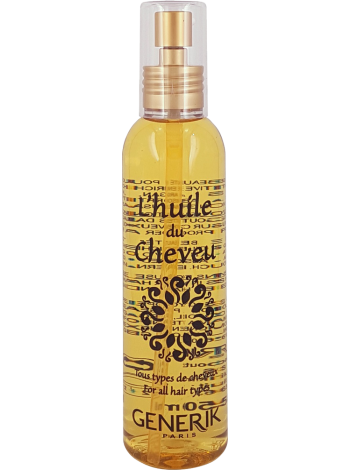 Питательное масло для окрашенных, осветлённых и мелированных волос L'Huile de Cheveu Generik