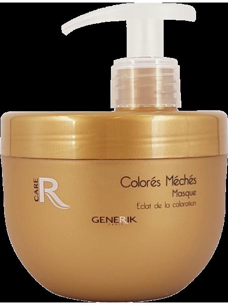 Маска для окрашенных, осветлённых и мелированных волос Generik