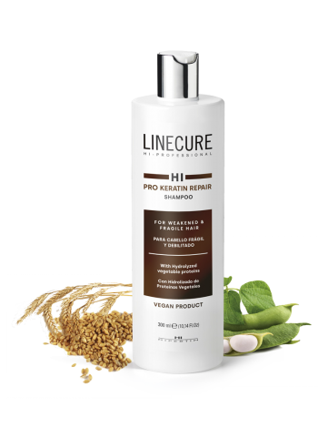 Кератиновый шампунь Linecure «Pro Keratin Repair» Hipertin