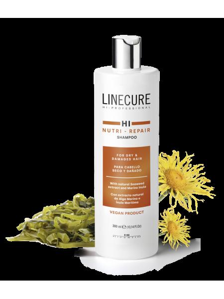 Восстанавливающий шампунь Linecure «Nutri-Repair» Hipertin