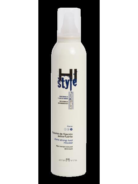 Мусс для укладки волос экстра-сильной фиксации «Hi Style»