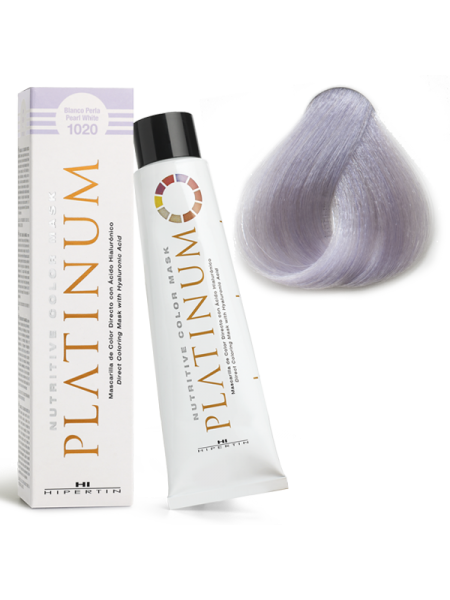 1020 Белый жемчуг - оттеночная краска Hipertin Platinum