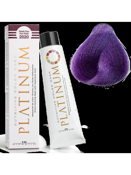 2020 Чистый фиолет - оттеночная краска Hipertin Platinum