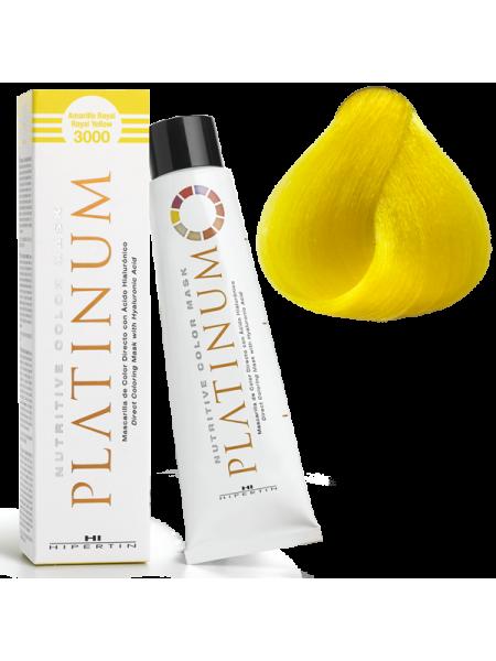 3000 Королевский жёлтый - оттеночная краска Hipertin Platinum