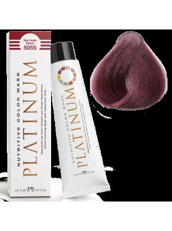 5055 Красный махагон - оттеночная краска для волос Ипертин Платинум
