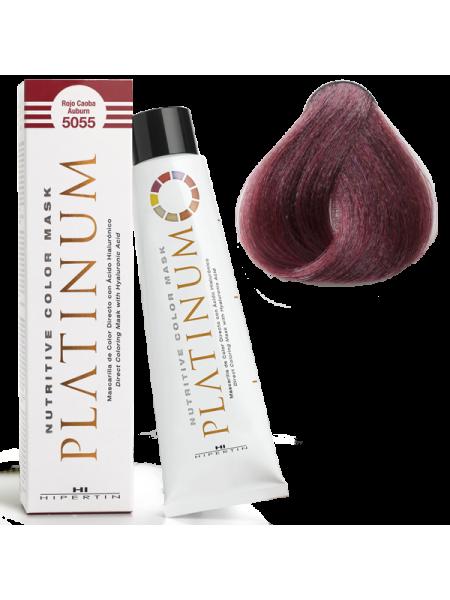 5055 Красный махагон - оттеночная краска Hipertin Platinum