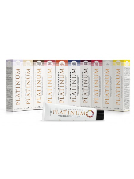Оттеночная краска-маска Nutritive Color Mask Platinum Hipertin