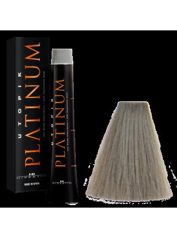 6/11P Тёмный блондин пепельный - краска для волос Utopik Platinum