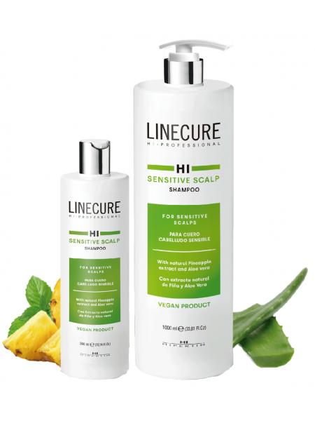Шампунь для чувствительной кожи головы Linecure «Sensetive Scalp» Hipertin
