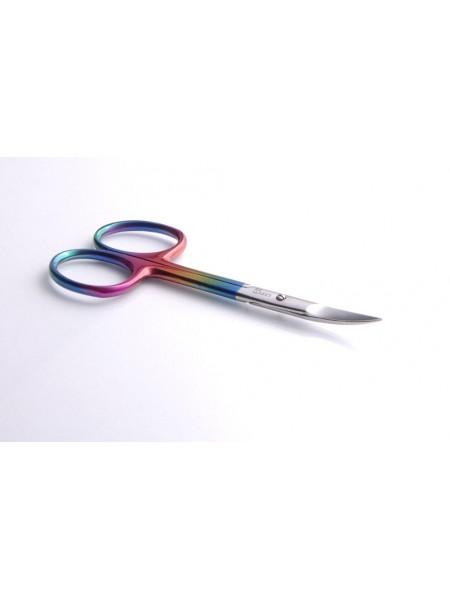 Ножницы для кутикулы (кожи), лезвие 22 мм - 525