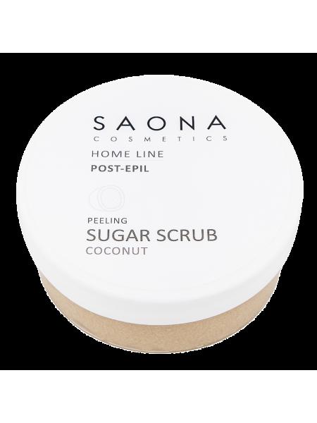 Сахарный скраб для лёгкого пилинга (кокос) Saona