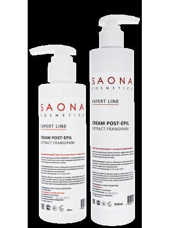 Увлажняющий крем после депиляции с экстрактом франжипани Saona
