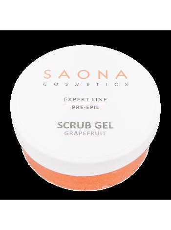 Очищающий скраб-гель с экстрактом грейпфрута Saona