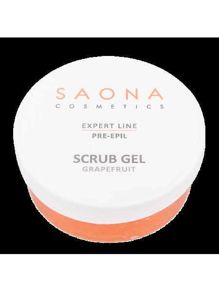 Очищающий скраб с экстрактом грейпфрута Saona