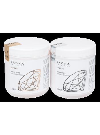 Ультрамягкая паста для скоростного шугаринга Saona Cosmetics