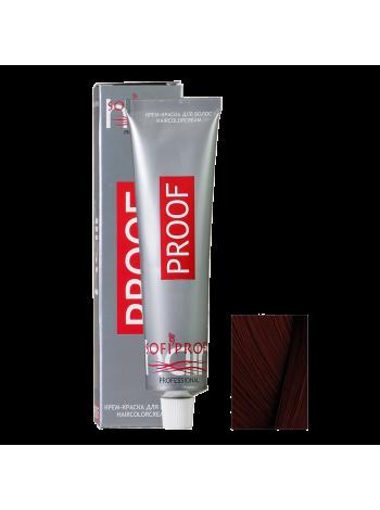4.77 шатен шоколадный - Краска для волос Proof (Sofiprofi)