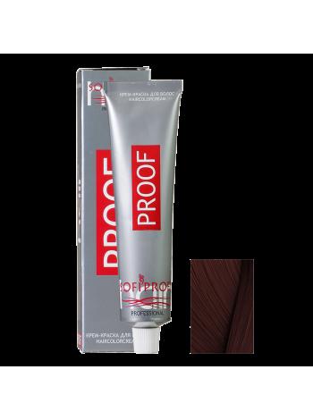 5.7 светлый шатен шоколадный - Краска для волос Proof (Sofiprofi)