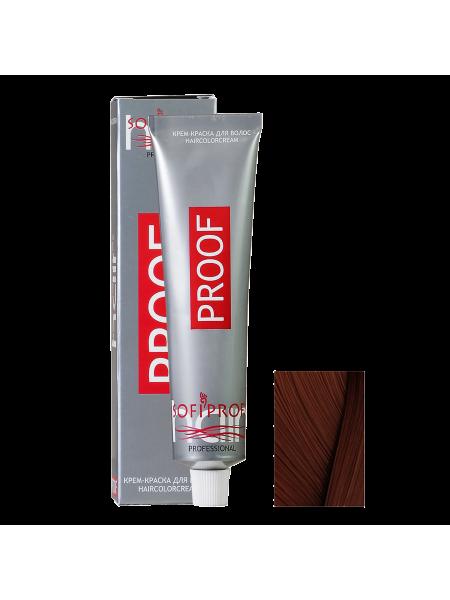 6.77 тёмно-русый шоколадный - Краска для волос Proof (Sofiprofi)