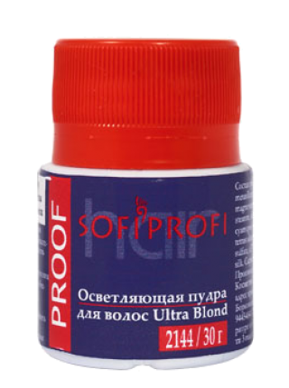 Осветляющая пудра PROOF Ultra Blond
