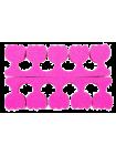 Розовые разделители пальцев для ног Sophin