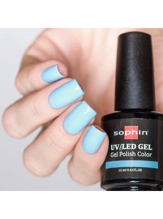 Гель-лак Sophin №0713 (пастельно-голубой)