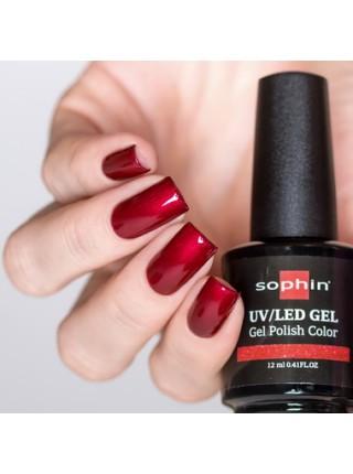 Гель-лак Sophin №0714 (тёмно-красный)
