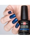 UV/LED гель-лак Sophin Sapphire, тёмно-синий с шиммером