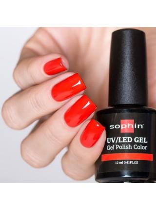 Гель-лак Sophin №0717 (коралловый)