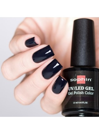 Гель-лак Sophin №0721 (чёрный)