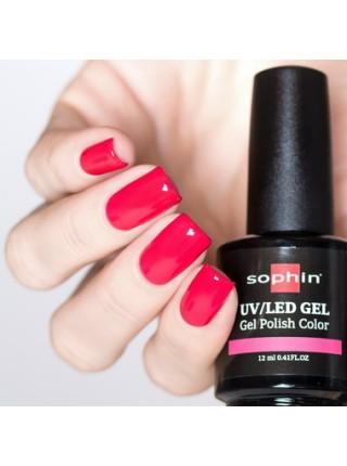 Гель-лак Sophin №0722 (розовый неон)
