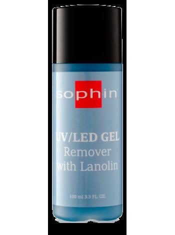 Средство для удаления UV/LED гель-лака Sophin с ланолином