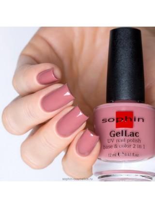 Лак Gellac Sophin №0633 (бежево-розовый)