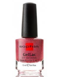 Лак Gellac Sophin №0649 (кораллово-розовый голографический)