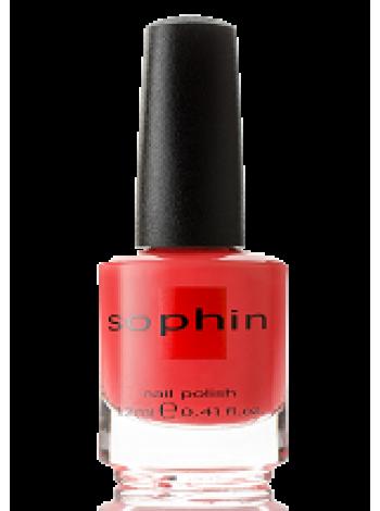 Оранжево-коралловый лак для ногтей Sophin