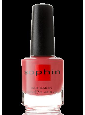 Красно-розовый лак для ногтей Sophin