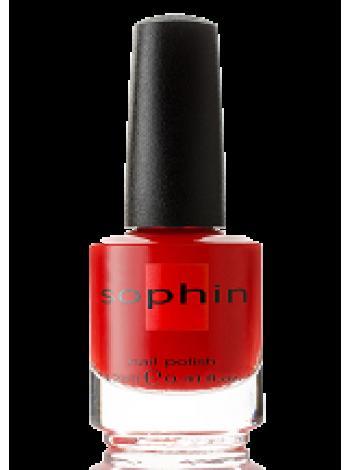 Алый лак для ногтей Sophin